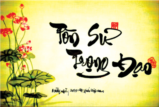 Quảng Ngãi Tourist tri ân ngày nhà giáo Việt Nam